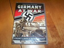GERMANY AT WAR Front Lines & Home Front German Military Documentary WW2 DVD NEW