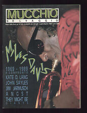 MUCCHIO SELVAGGIO 138-139/1989 MILES DAVIS SIMPLE MINDS THE WHO PETE TOWNSHEND