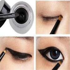New Pro Waterproof Eye Liner Eyeliner Shadow Gel Makeup Cosmetic+Brush Black B1