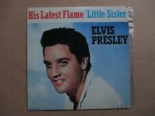 Elvis Presley, His Latest Flame, p/s, Canadian pressing