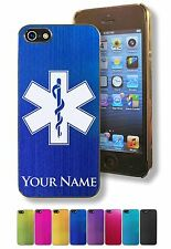 Personalized Case/Cover for iPhone 5/5S - STAR OF LIFE, EMT, MEDICAL