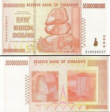 50 BILLION ZIMBABWE DOLLAR ZA, 2008, MONEY CURRENCY.UNC*  USA SELLER*
