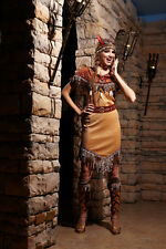 HGM COSTUMES Woman Indian Lady / 100% Polyester / Complete Outfit