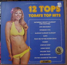 12 TOPS TODAYS TOP HITS VOL.13 SEXY CHEESECAKE COVER UK PRESS LP