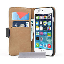 Caseflex Accessories For The Apple iPhone 6 Real Leather Wallet Phone Case Cover