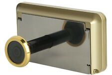 "Wireless Digital Door Peephole Viewer High Resolution Camera 3.2"" Monitor GOLD"