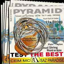 1Pack PYRAMID Profi AOUD OUD Strings UD teli 11Saiten Wound on Nylon-Plain Nylon