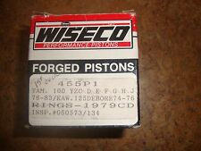Wiseco Piston Kit 455 P1 76-83 Yamaha YZ 100 Kawasaki 125 Debore 74-76 1979CD