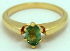 NATURAL 0.47 Carats ALEXANDRITE RING 10k Yellow Gold *FREE SHIPPING & APPRAISAL