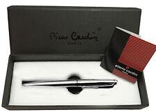 Penna Pierre Cardin a sfera PC0025 in metallo silver uomo idea regalo classico