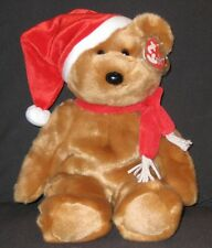 Retired TY 1997 HOLIDAY TEDDY BEAR BUDDY - MINT with MINT TAGS