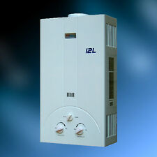 NEW IN HOUSE NATURAL GAS TANKLESS WATER HEATER 3.2 GPM /12 L