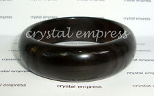 FENG SHUI - 58MM BLACK OBSIDIAN BANGLE