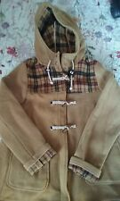 topshop mustard and tartan duffle coat 12