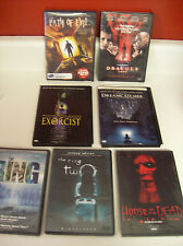 The Ring 1&2, Dreamcatcher, Dracula, Exorcist, Path of Evil, House...Dead 7 DVDs