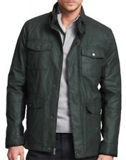 New KENNETH COLE NEW YORK Coated Cotton Military Coat Jacket, nwt, S, $250