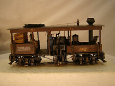 On30 Logging Steam Engine - 2 Track Shay - custom weathered with DCC - lot 4