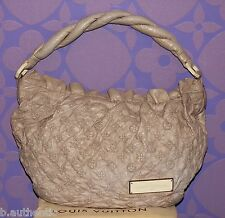 Louis Vuitton Monogram Olympe Nimbus GM Ecru Beige Lamb Leather Limited Edition!