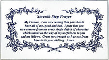 AA Alcoholics Anonymous, Seventh Step Prayer Magnet, #M2