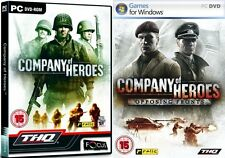 company of heroes & opposing fronts    new&sealed