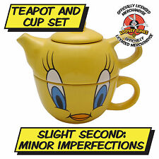 SECOND TWEETY PIE COMBINED TEA POT AND MUG FOR ONE Cartoon Looney Tunes Kitchen