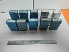 LOT 10 EA MOTOROLA QUARTZ CRYSTAL FREQUENCY CONTROL RADIO AS IS BIN#K6-10
