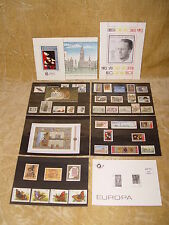 BELGIUM BELGIQUE 1993 YEAR SET PACK - COMPLETE MINT STAMPS IN FOLDER W/ BOOKLET