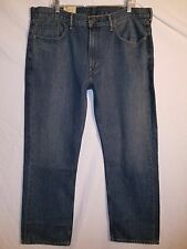 Men's NEW LEVI'S 559 RELAXED STRAIGHT FIT DESIGNER MEN'S JEANS SIZE 38X32 #182