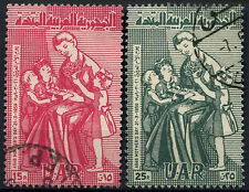 Syria 1959 SG#687-688 Mothers Day Used Set #D39613