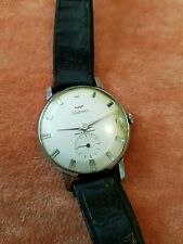 Waltham Rare Crystal Dial Manual Luxury Manual Watch France 1960 7j Rare