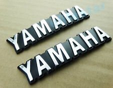 Chrome ABS 3D Fuel Gas Tank Badge Emblem Decal Sticker For Yamaha Motorcycle