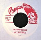 Chevrons Totta's Bluesband Pompadour 104 Person To Person and The Defense Rest