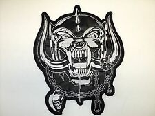 motorhead snaggletooth  EMBROIDERED BACK PATCH