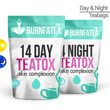BURNFATEA - 14 DAY TEATOX SKIN COMPLEXION (Clear Skin Tea, Detox, Weight Loss)