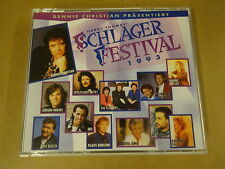2-CD BOX / HARRY THOMAS SCHLAGERFESTIVAL 1993  ( DENNIE CHRISTIAN PRASENTIERT )