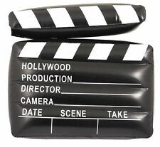 INFLATABLE CLAPPER BOARD 43 X 34 CM MOVIE DIRECTOR HOLLYWOOD SET PROP PARTY