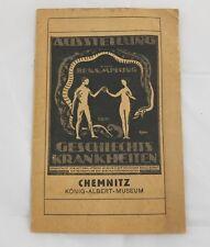 Antik Buch Broschüre Ausstellung   Chemnitz Dresden 1919 Hygiene Museum