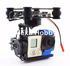 3 Axis Brushless Gimbal Camera Mount w/ Storm32 Controller For Gopro 3 4 SJ4000
