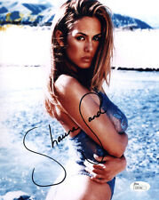 (SSG) Hot SHAUNA SAND Signed 8X10 Color Photo with a JSA (James Spence) COA