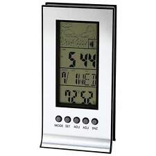 New Indoor Outdoor Wireless Weather Station Alarm Clock Snooze Forecast Calendar