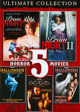 5 Horror Movies: Ultimate Collection (DVD) Prom Night I II 1 2 ~ Halloween H2O