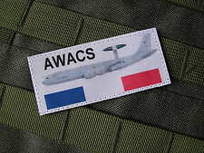 Patch Velcro - AWACS - pilote AIR fac VOL équipage COS