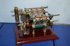 V4-cylinder steam engine ( with Steam boiler feed pump) Free Shipping