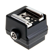 New Flash Hot Shoe PC Sync Socket Adapter for Sony SLR DSLR Camera