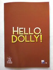 HELLO DOLLY!.GLASGOW.THE KING'S.PROGRAMME TICKETS 16-4 2008.ANITA DOBSON.D DAY
