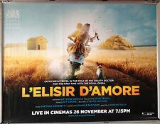 Cinema Poster: L'ELISIR AMORE 26/11/14 (Quad) Royal Ballet Bryn Terfel
