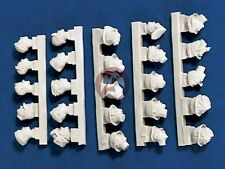 Verlinden 1/35 SuperValue German Soldier Heads WWII (25 heads) [Resin] 1186