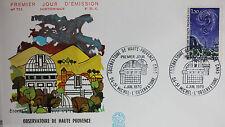 ENVELOPPE PREMIER JOUR - 9 x 16,5 cm - 1970 - OBSERVATOIRE DE PROVENCE - N° 731