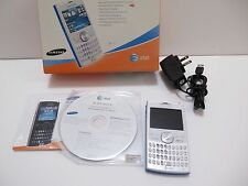Samsung BlackJack II SGH-I617 White (AT&T) Smartphone *For Parts/Not Working
