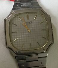 Authentic Vintage Seiko Credor Quartz Watch for Men Junk Missing Crown